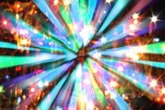 xmas zaświeca tło Obrazy Stock