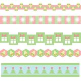 Xmass background. Colorful illustration with  xmass background for your design Stock Photography