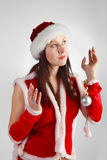 Xmass girl Stock Photography