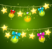 Xmass or Holiday Background. Vector Stock Photography