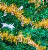 Xmass tree decoration Stock Images