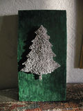 Xmass tree nails Stock Photos