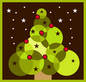 Xmastree Illustrazione di Stock