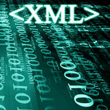 Xml Royalty Free Stock Image