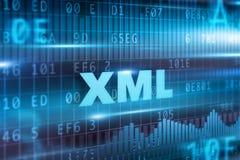 XML begrepp Arkivfoton