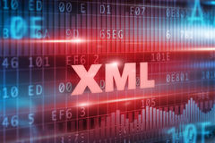 XML concept Royalty Free Stock Images