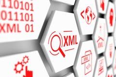 XML-Konzept Stockbild