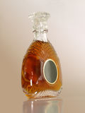Xo brandy bottle Royalty Free Stock Photos