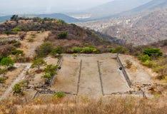 Xochicalco Toltec Ruins Mexico Royalty Free Stock Photo