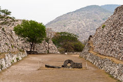 Xochicalco Toltec Ruins Mexico Royalty Free Stock Photos