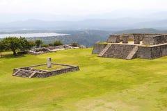 Xochicalco V Stockfoto