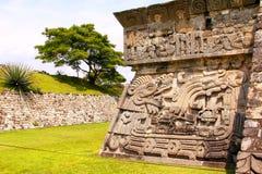 Xochicalco VIII стоковая фотография rf