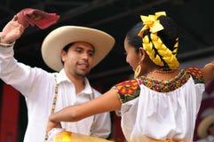 Xochicalli Meksykański ludoznawczy balet obraz royalty free
