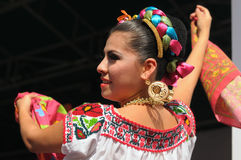 Xochicalli Mexican folkloric ballet Royalty Free Stock Photo
