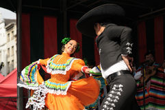 Xochicalli Mexican folkloric ballet Stock Photo