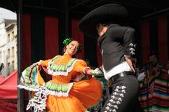 Xochicalli Mexican folkloric ballet Stock Photo