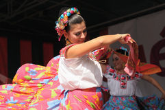 Folkloric mexican dance Stock Photography