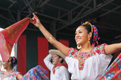Folkloric dance Stock Image