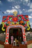 xochimilco καναλιών βαρκών Στοκ Εικόνα