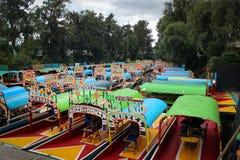 xochimilco Мексики Стоковые Фото
