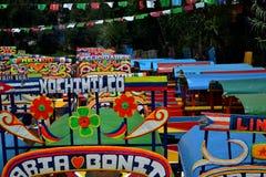 Xochimilco Zdjęcia Royalty Free