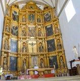 Xochimilco church luxury decoration autel Royalty Free Stock Photo