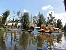 Xochimilco - Ciudad DE Mexico - Mexico stock afbeeldingen