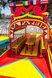 Xochimilco Colors Royalty Free Stock Photos