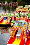 Xochimilco II stock afbeeldingen