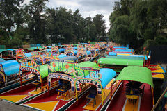 Xochimilco, Messico Fotografie Stock