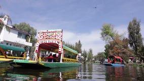 Xochimilco, Mexiko City stock video footage