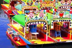 Xochimilco V stock afbeelding