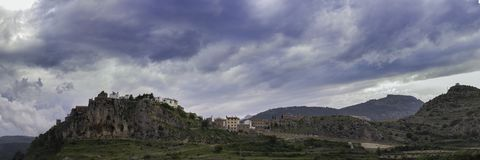 Xodos Castellon, Spain. Xodos, town located in Castellon, Spain Stock Image