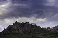 Xodos Castellon, Spain. Xodos, town located in Castellon, Spain royalty free stock photography