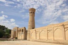 Xoja Kalon Minaret in Bukhara city, Uzbekistan Royalty Free Stock Photos