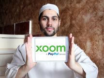 Xoom Korporation logo royaltyfria foton