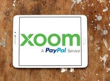 Xoom Korporation logo royaltyfri fotografi