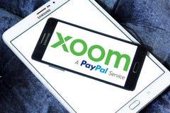 Xoom Korporation logo royaltyfria bilder