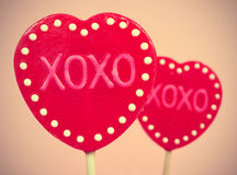 XOXO, объятия и поцелуи Стоковая Фотография RF