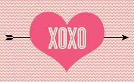 XOXO Imagens de Stock Royalty Free
