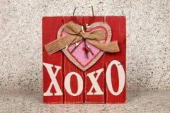 XOXO Photo libre de droits