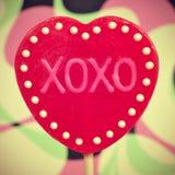 XOXO, abbracci e baci Fotografia Stock Libera da Diritti