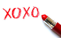 XOXO: Hugs and Kisses royalty free stock images