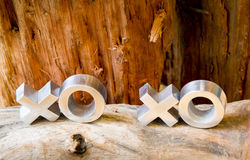 XOXO Hugs and Kisses Stock Photography
