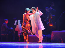 Xpress lycka-identitet av dentango dansdramat Royaltyfria Foton