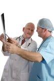 xray konsultacji z lekarzem Fotografia Royalty Free
