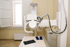 Xray machine in the medical clinic cabinet Royalty Free Stock Images