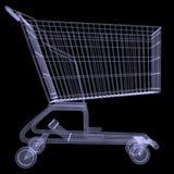 Xray of shopping cart Stock Image