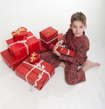Xtmas morning Royalty Free Stock Image