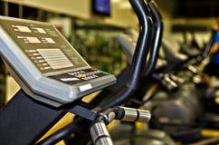 Xtrainer machine. In fitness club Stock Photo